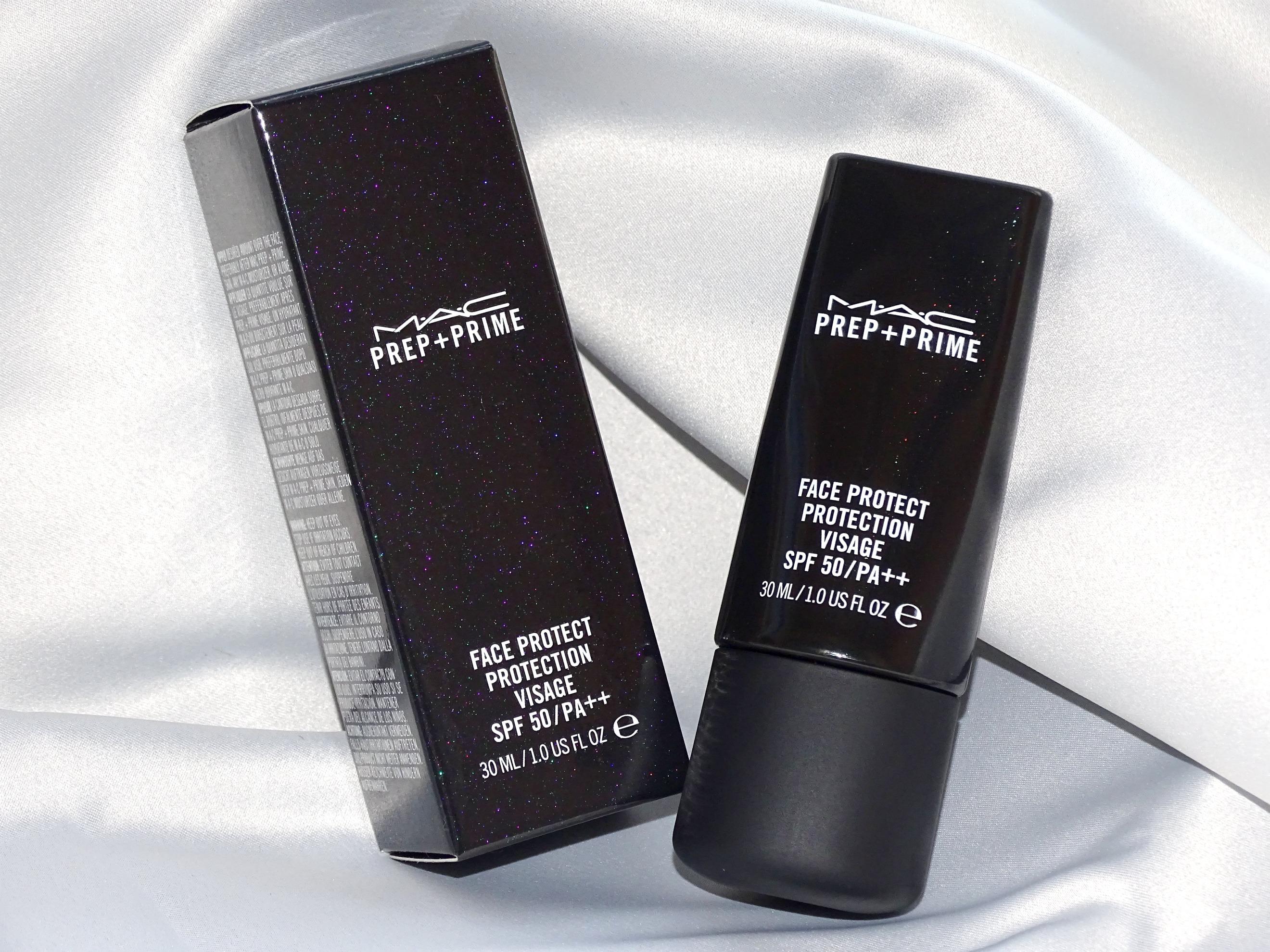 Лятна защита: MAC, основа за грим и филтър SPF 50, Prep + Prime защита за лицето