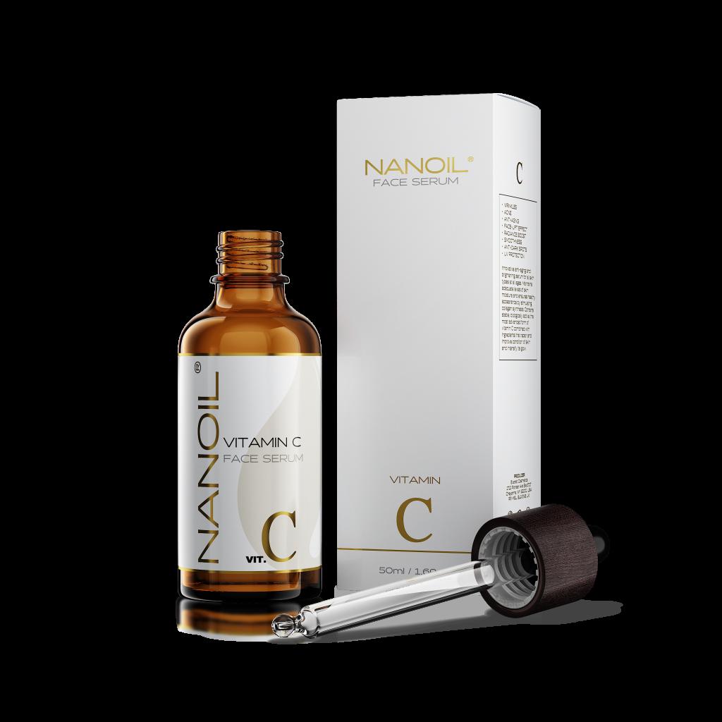 Гладка и бляскава кожа! Ето как работи серумът за лице с витамин C от Nanoil