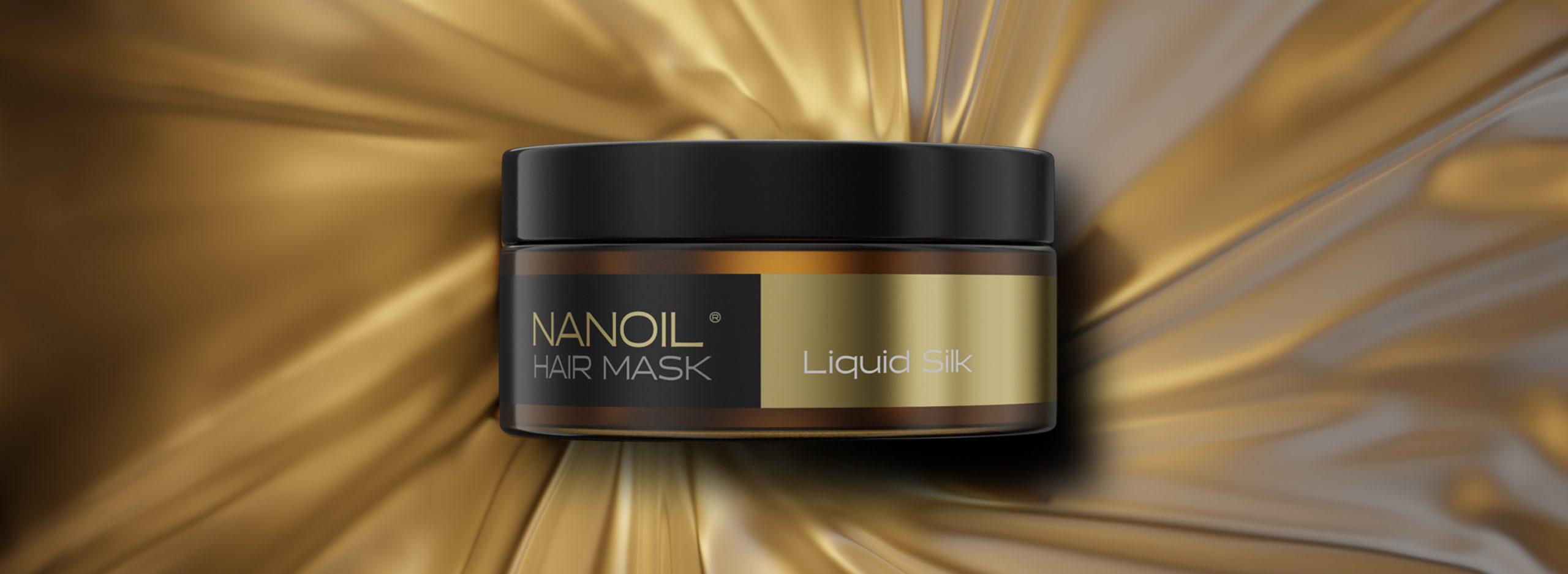 Nanoil Liquid Silk Hair Mask: без повече проблеми, свързани с косата